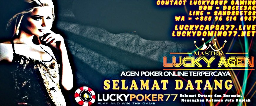 Link Alternatif Luckypoker77 Terbaru